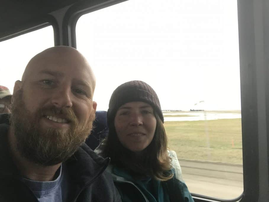 On the tour bus to Prudhoe Bay