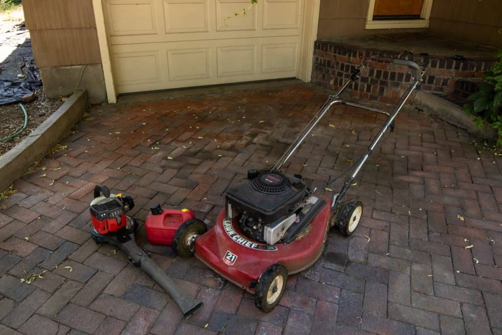 Power tools to help complete the yard work