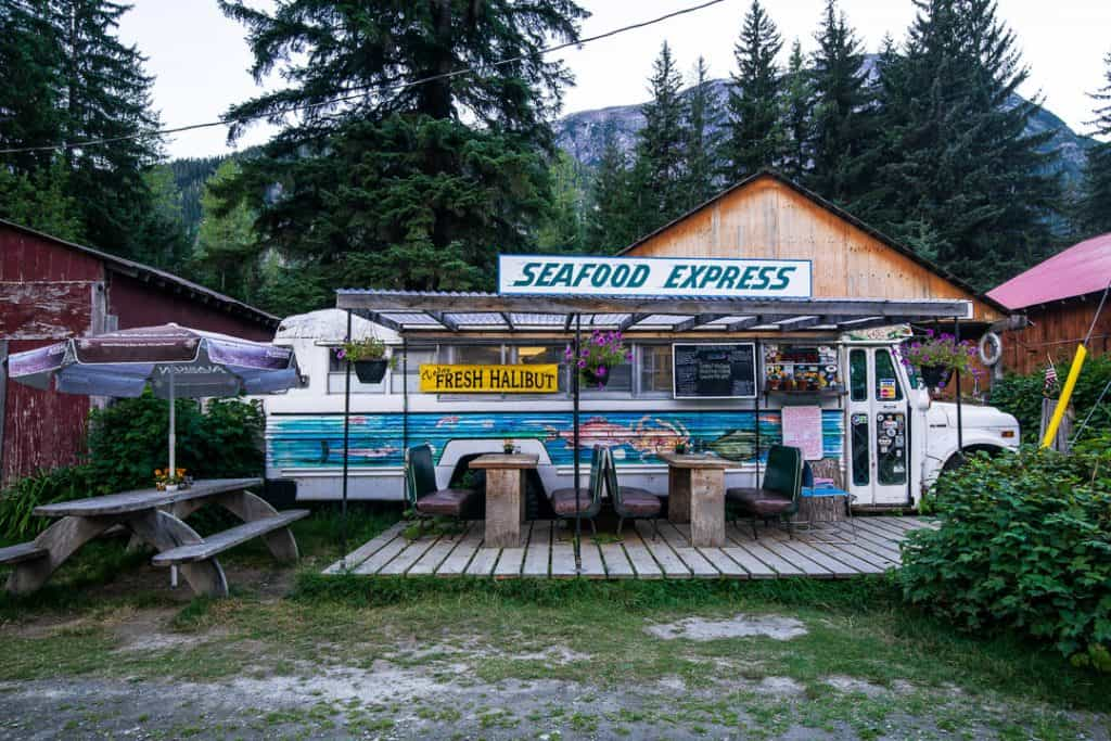 "The ""Seafood Express"" AKA ""The Bus"""