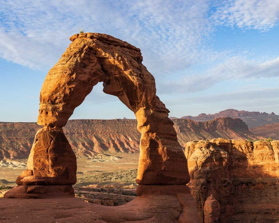 Image of Delicate Arch in our favorite Utah National Park
