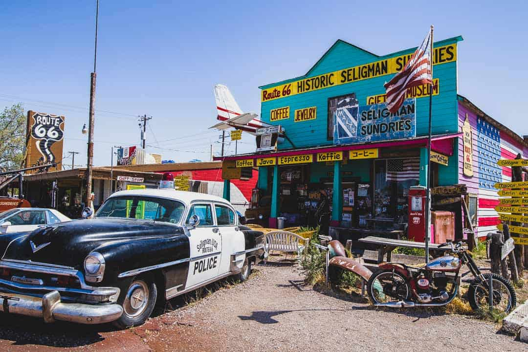 Seligman Sundries shop on Historic route 66