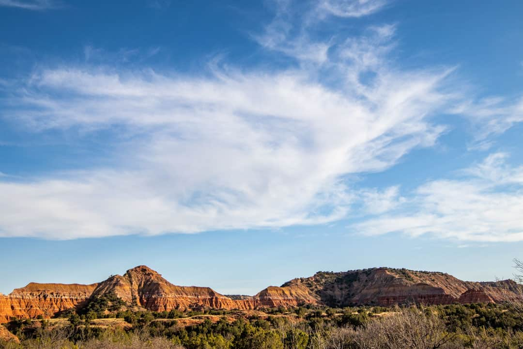Palo Duro Canyon From The Givens, Spicer & Lowry Running Trail. Our Favorite Trail in the Park