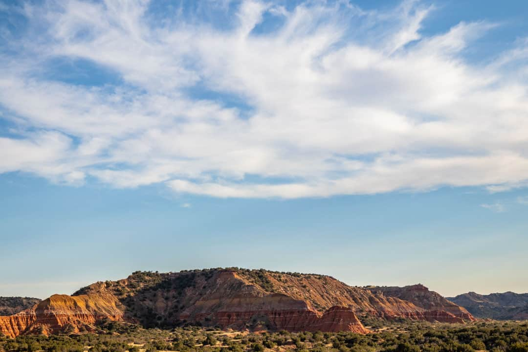 Palo Duro Canyon offers views from above and below the canyon rim
