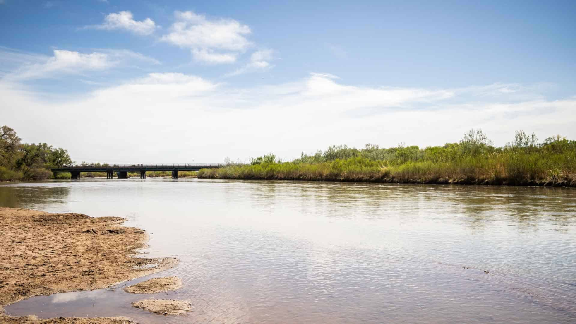 The famous Rio Grande makes its start in Colorado and flows through Albuquerque before becoming one of the main borders between the US and Mexico.