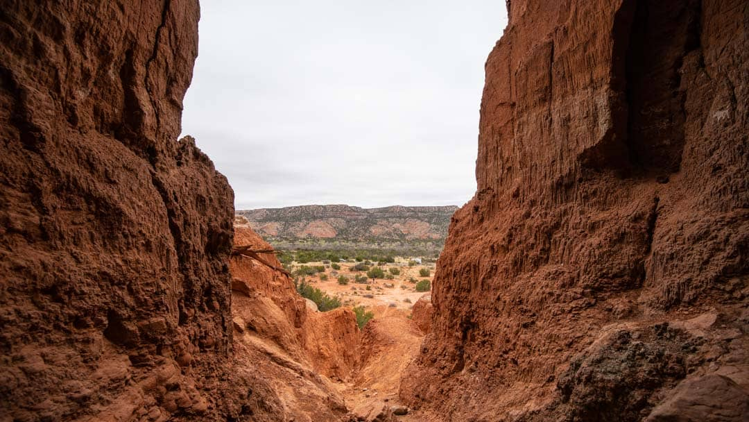 Unique views are offered all over your visit to Palo Duro Canyon