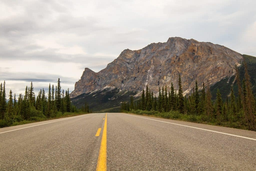 Views of mountains like this are everywhere when you drive the Dalton Highway