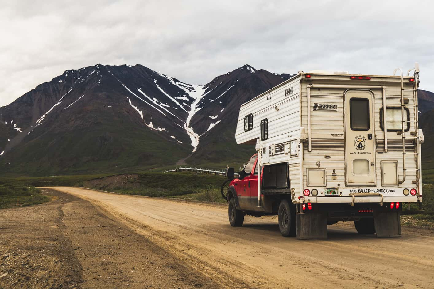 A View of the Mountains When you drive the Dalton Highway