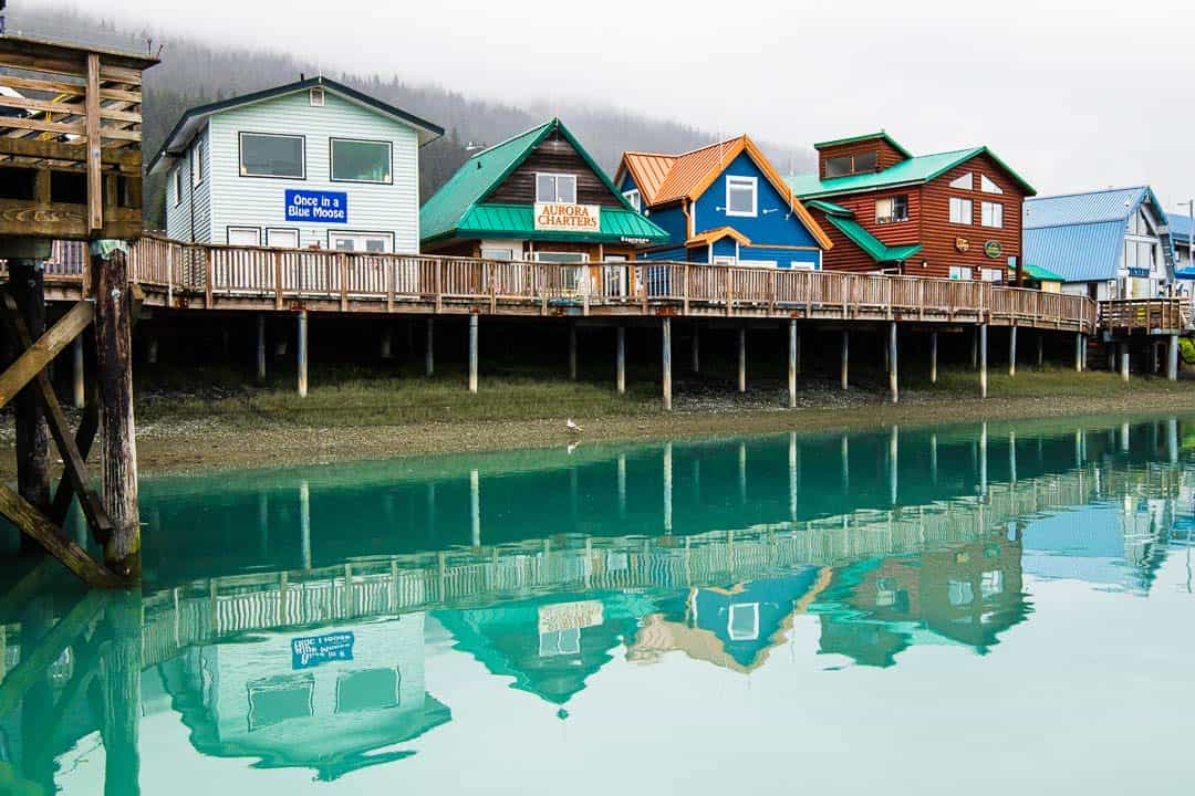 Walking along the harbor is just one of many things to do in Seward Alaska