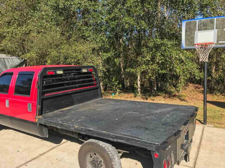 Painting the Flatbed Flat Black