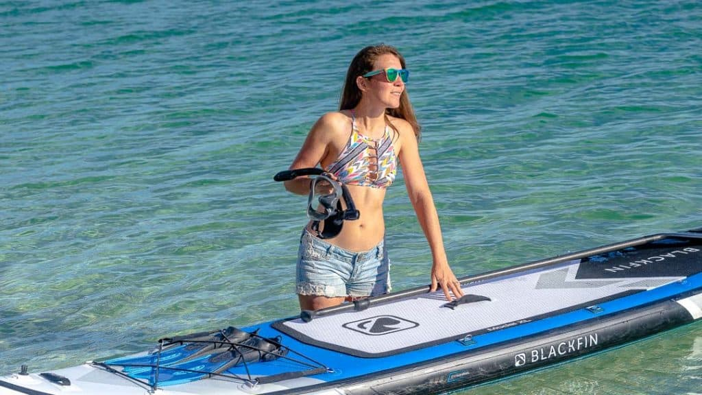 iROCKER Inflatable Stand Up Paddleboard
