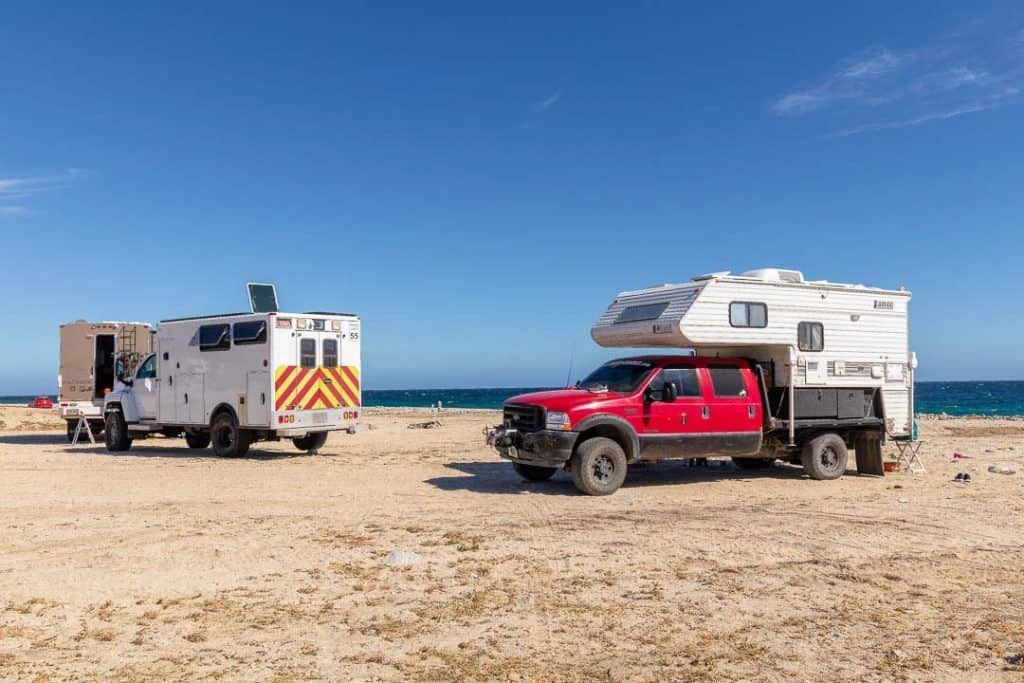 free camping los barriles