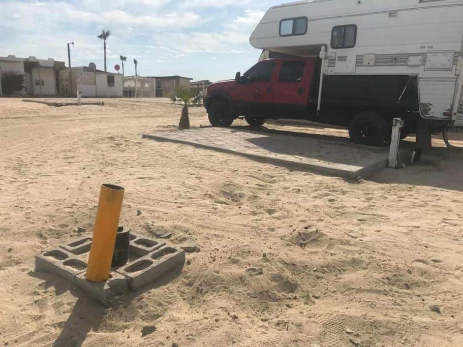 Camping in San Felipe at Victors RV Park